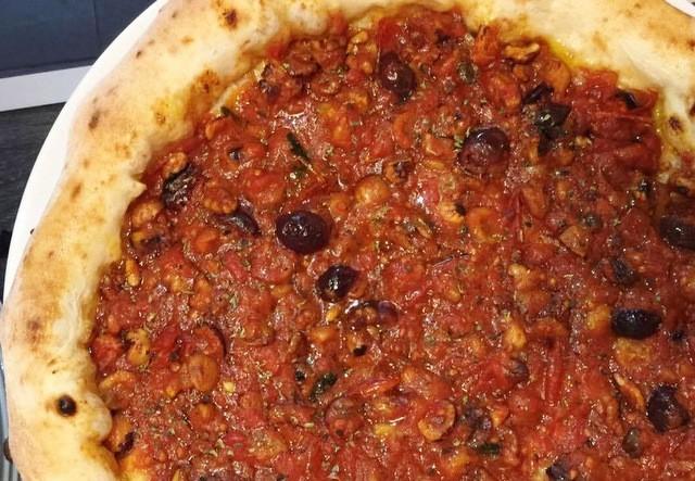 Pizza Natale diego Vitagliano Pizza Angelina