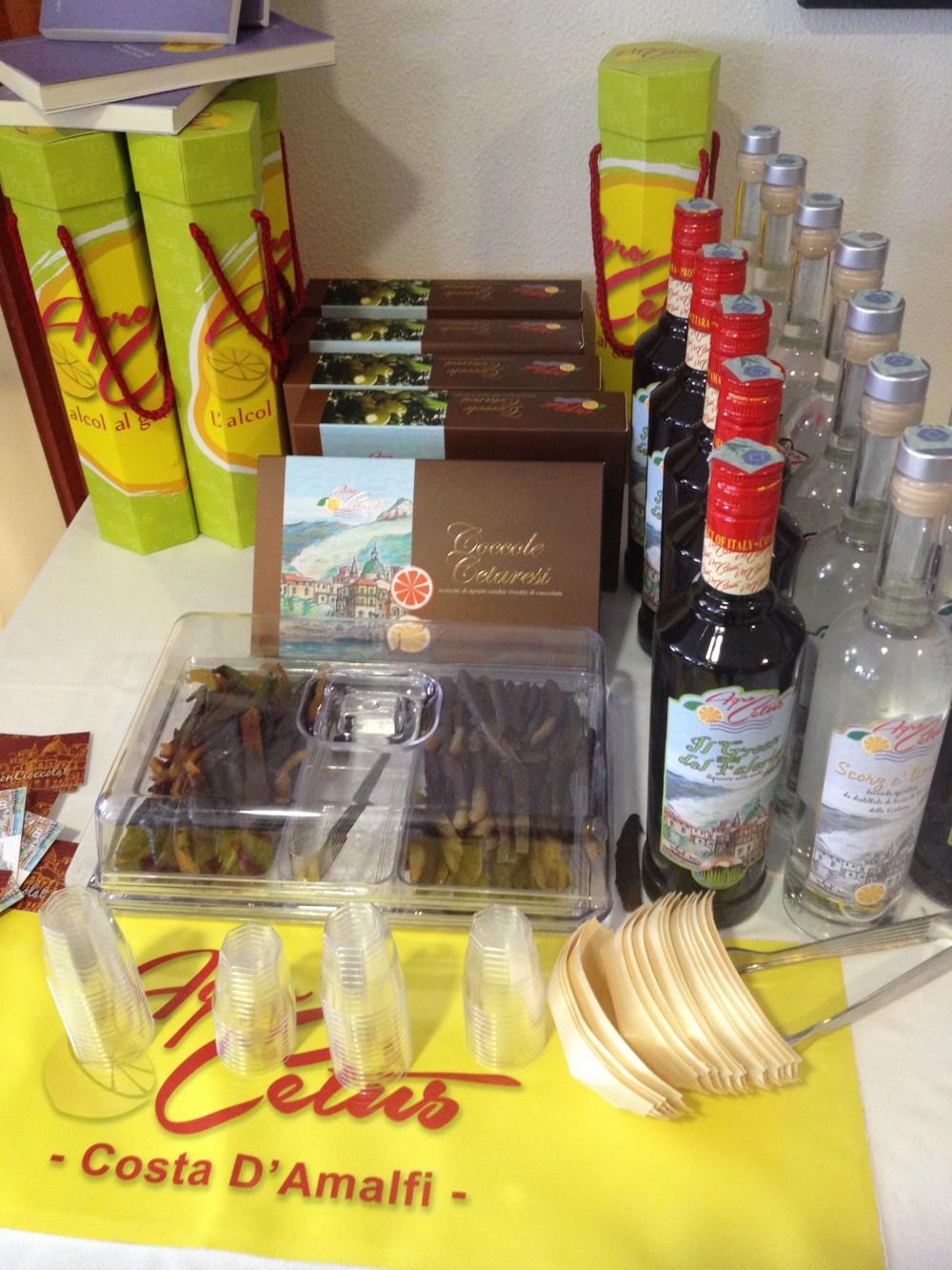 Premio gastronomico Ezio Falcone, aziedna di liquori