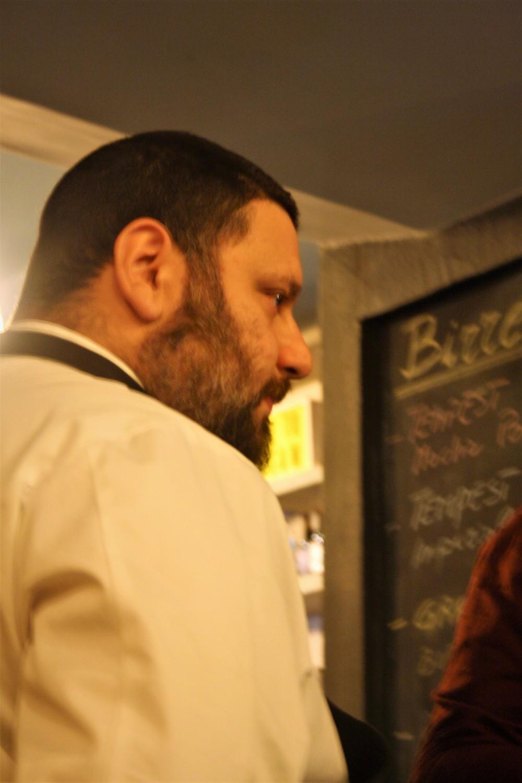 Venerando Valastro, chef del Bubba Pub