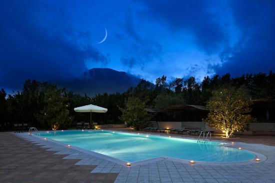 Villa Rizzo, piscina