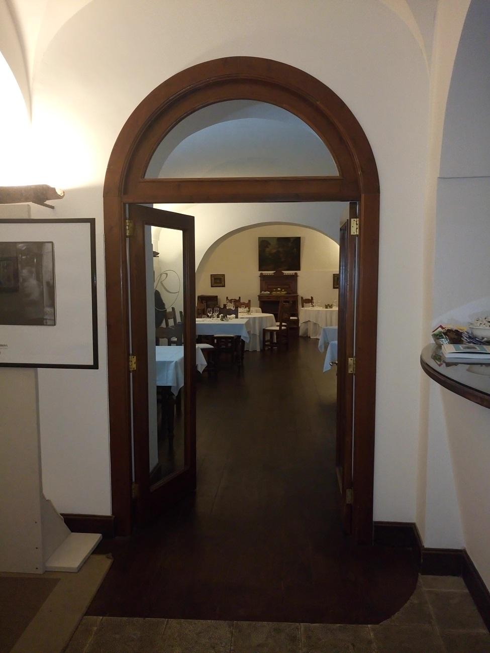 Villa Rizzo, sala interna