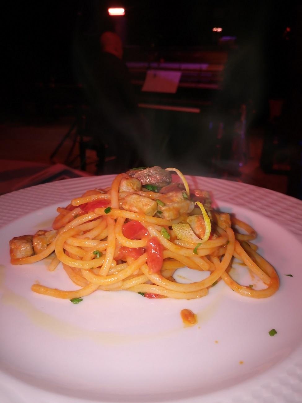 Villa Rizzo, spaghetto