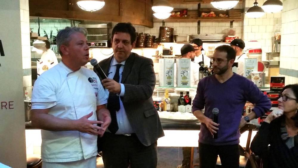 Vincenzo Esposito con Luciano Pignataro e Stefano Palombari