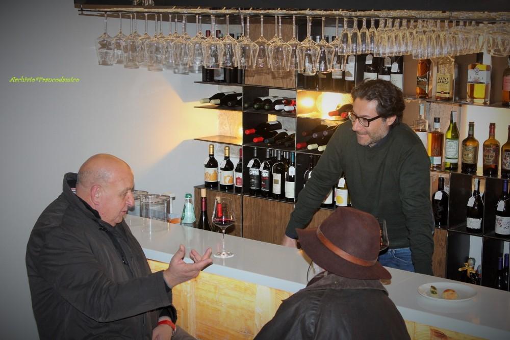 Al banco Mario Basco con Germano Faella