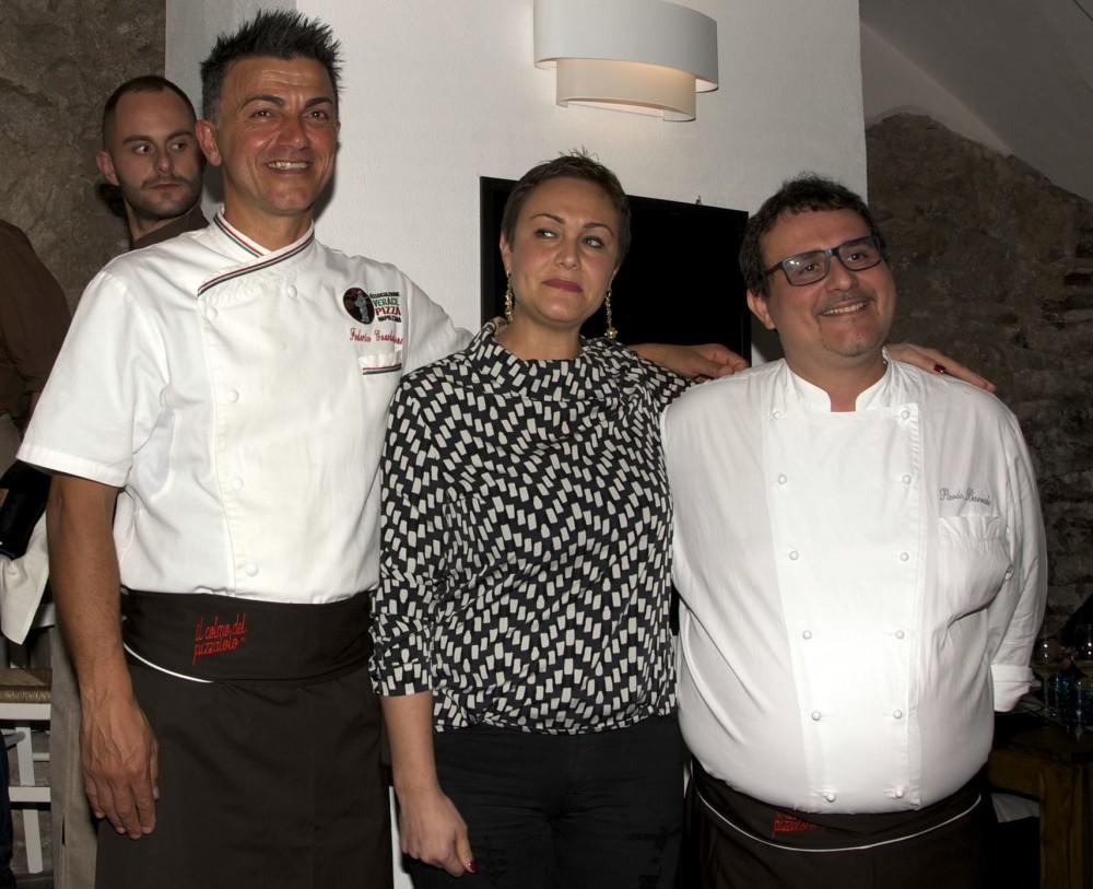Federico Guardascione, Floriana Schiano e Paolo Barrale
