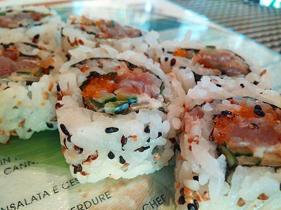 Nero Sushi Japanese, San Francisco Roll