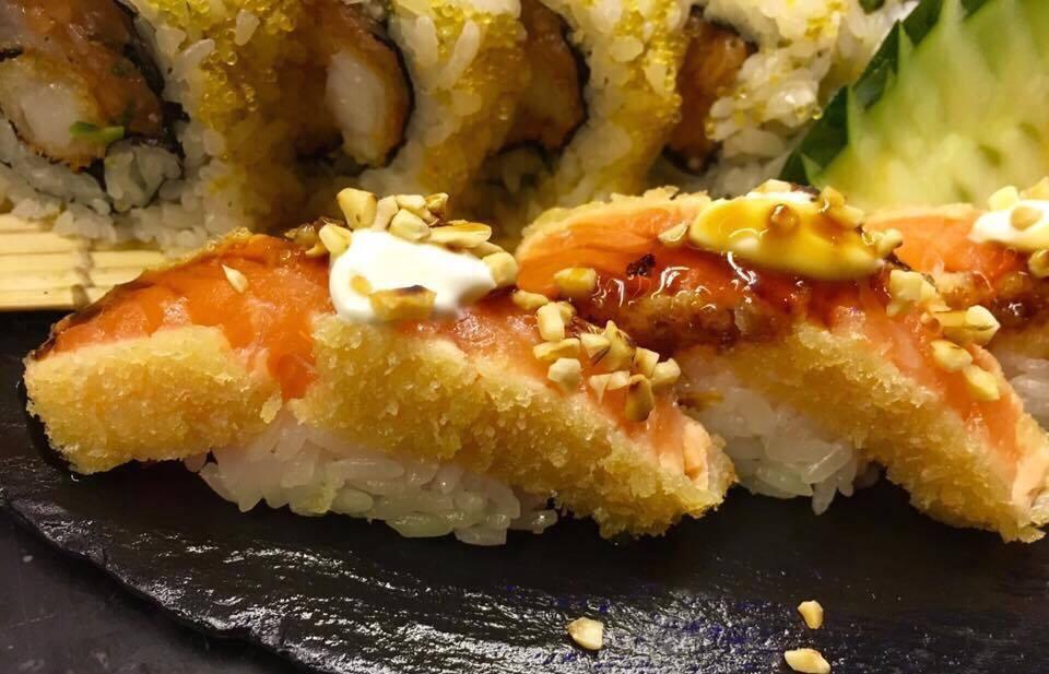 Nero Sushi Japanese, Nigiri e Uramaki Furai