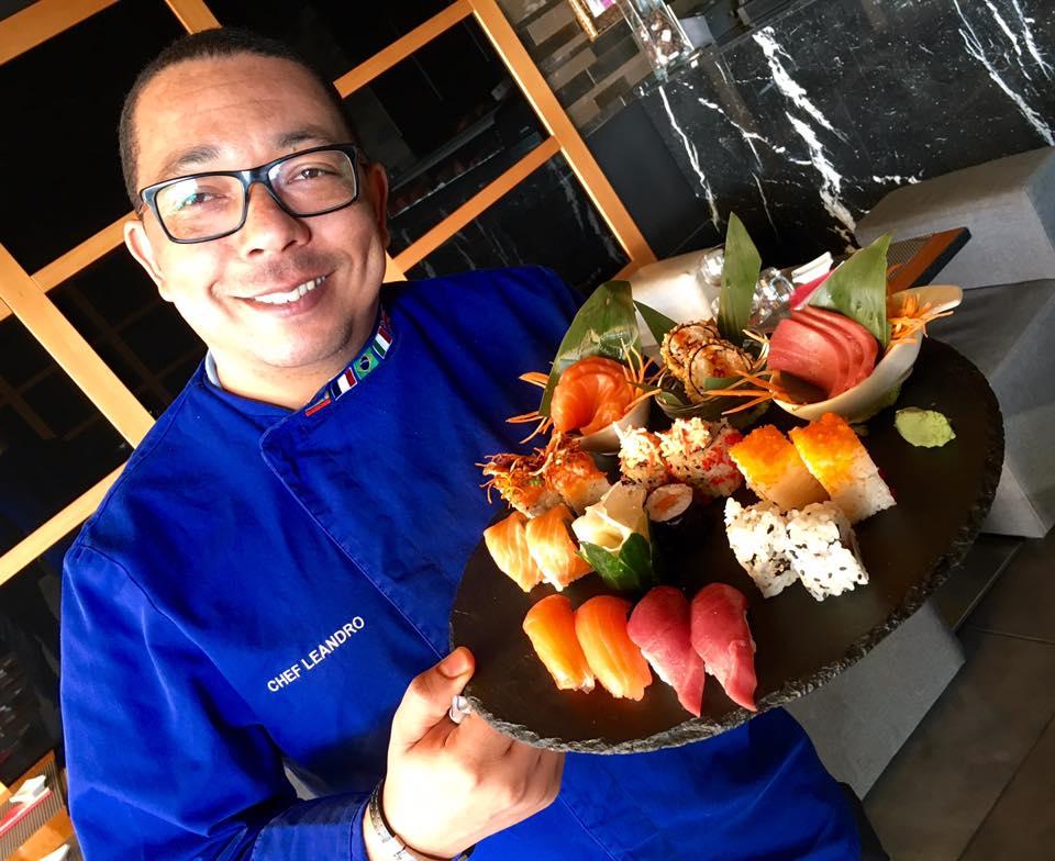 Nero Sushi Japanese, Chef Leandro