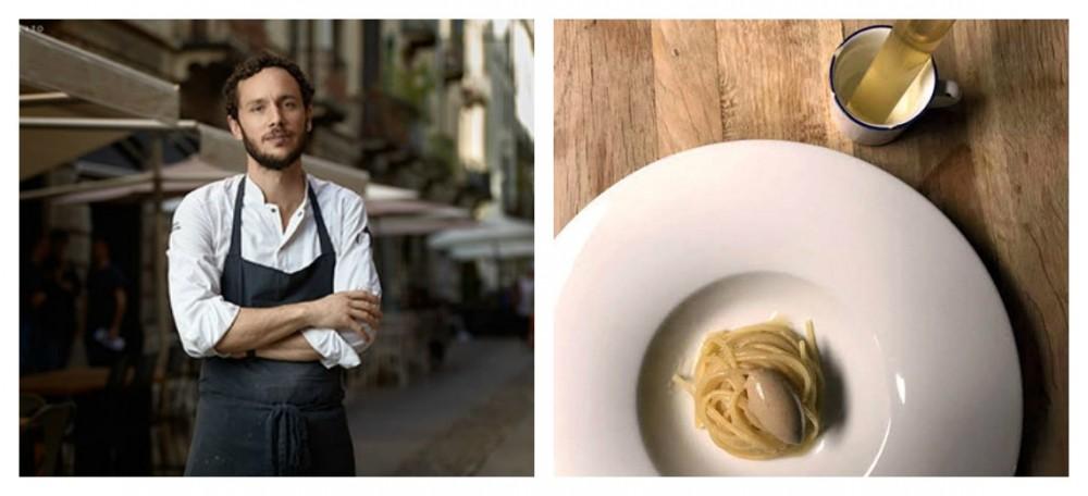 Alici salate di Procida per il piatto di Marco Ambrosino