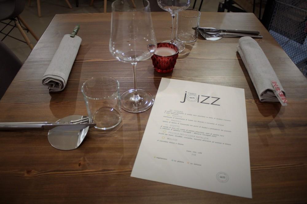Bistrot 26, preparazione del tavolo