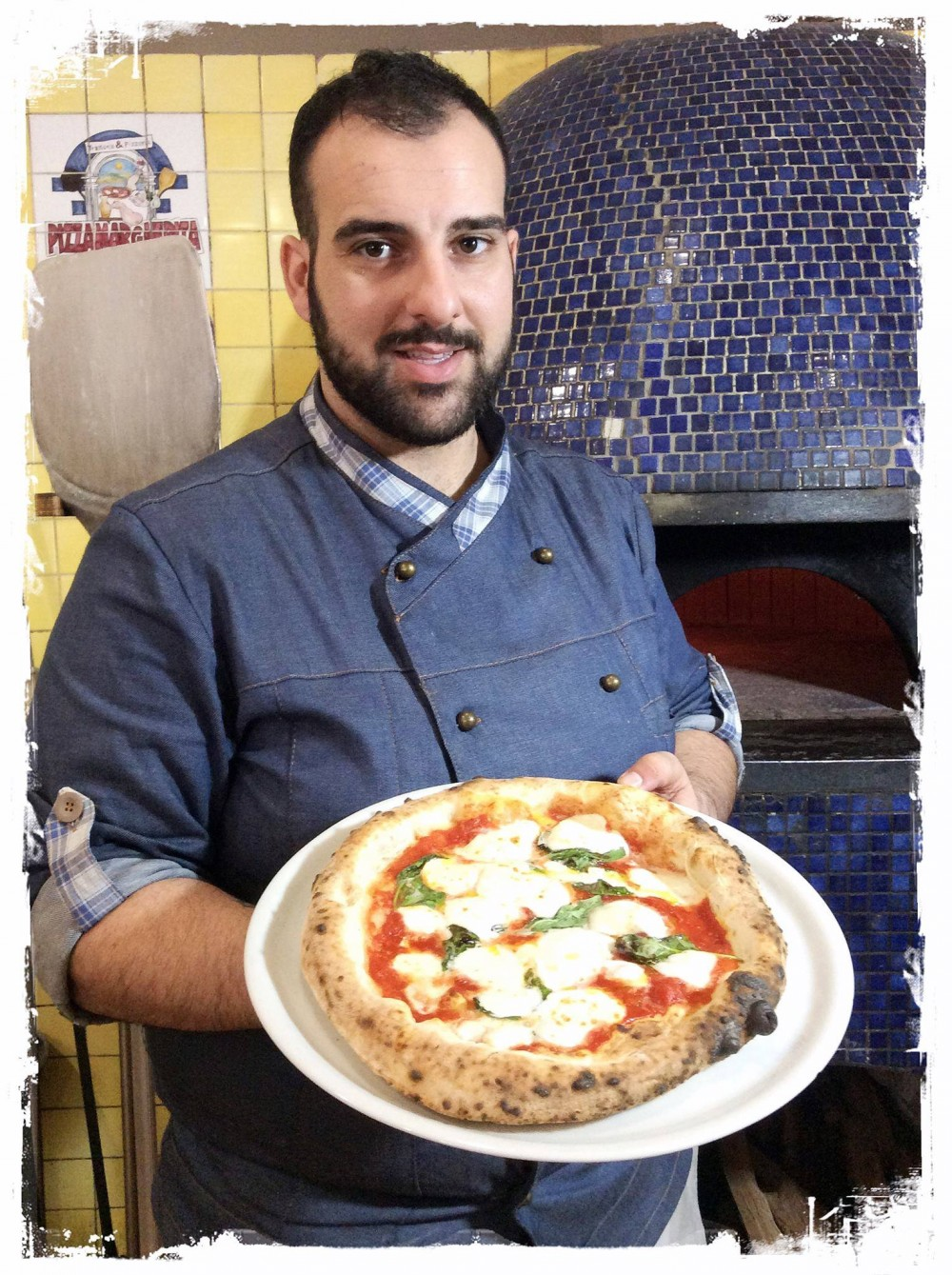 Pizza Margherita Daniele Sellami e la sua arte per la pizza