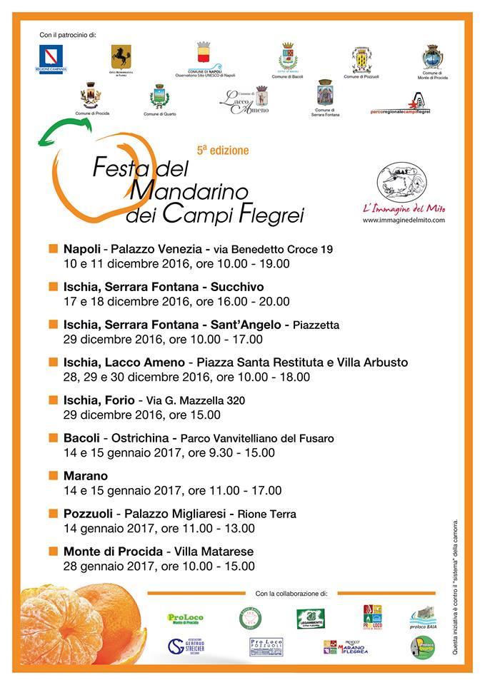Conferenza tematica sul mandarino dei Campi Flegrei