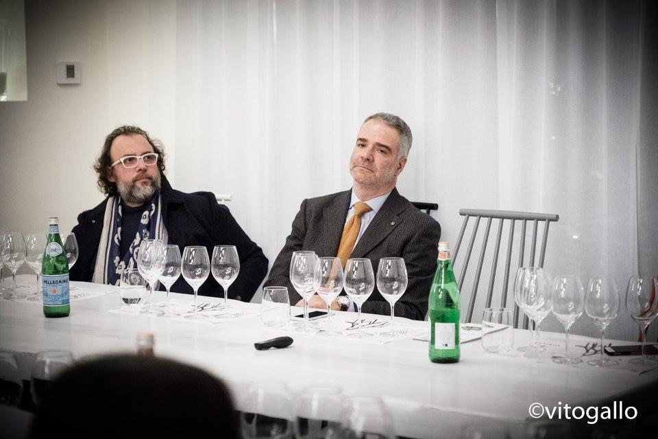 Francesco Muci, Slow Wine Puglia, e Paolo Lauciani, Fis