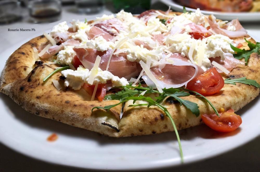Pizza Margherita - Stracciatella
