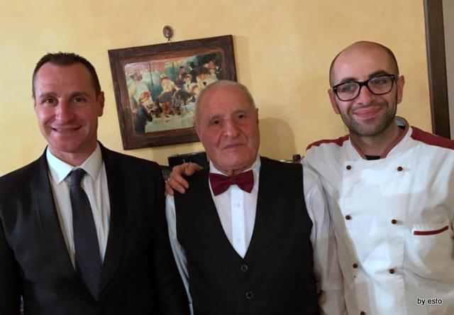 'A Luna  Rossa Lorenzo e Dario con il papa' Sabatino Pascarella
