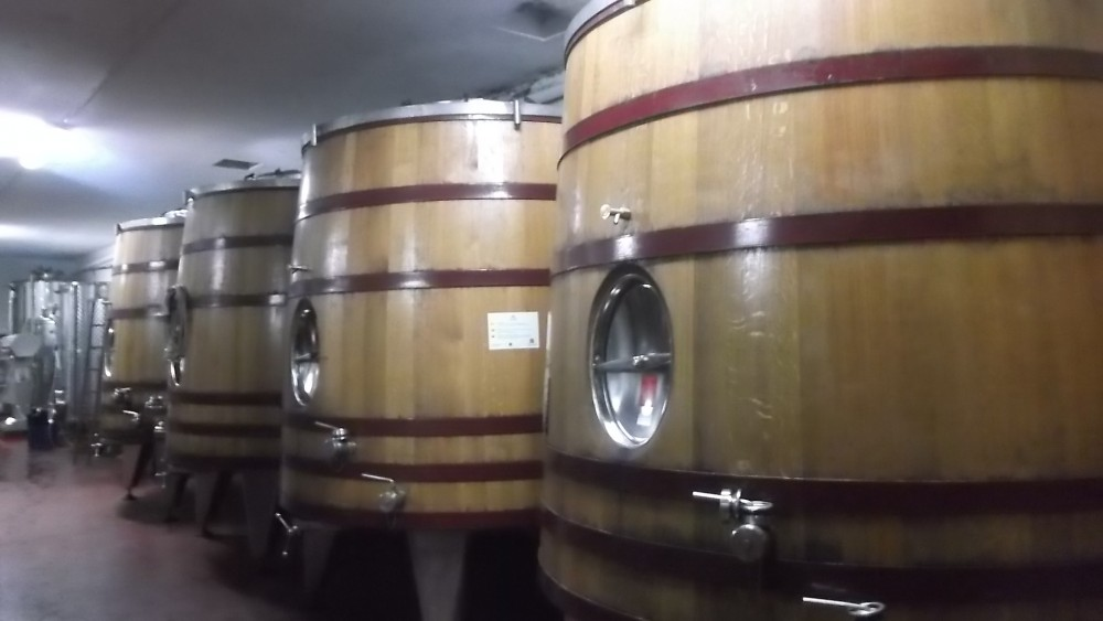 Azienda Vincenzo Polito Contenitori in legno grande