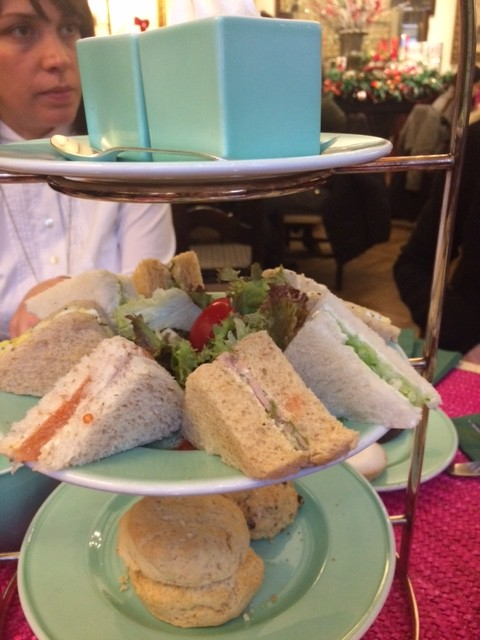 Babingtons, i club sandwich