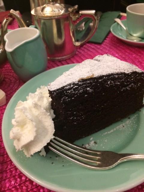 Babingtons, la torta al cioccolato