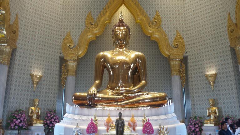 Bangkok, il Buddha d'oro - foto di Novella Talamo