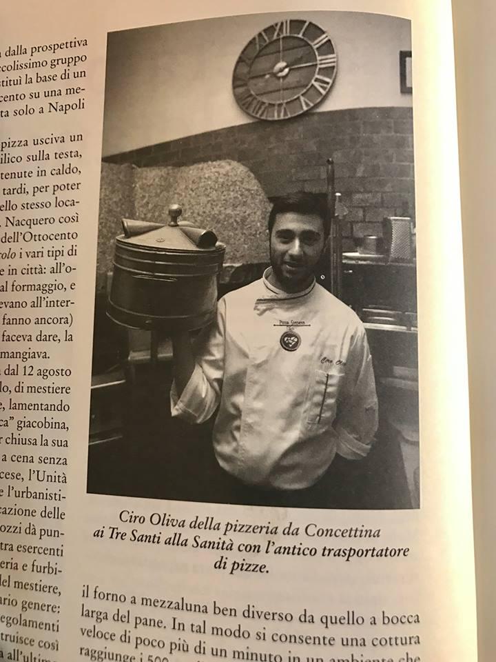 """Ciro Oliva in """"La cucina napoletana"""" Hoepli Edizioni"""