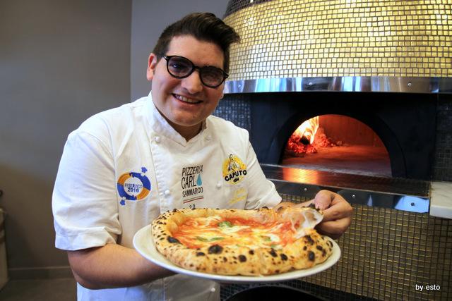Carlo Sammarco Pizzeria 2.0 Aversa Pizza Margherita foto tommaso esposito