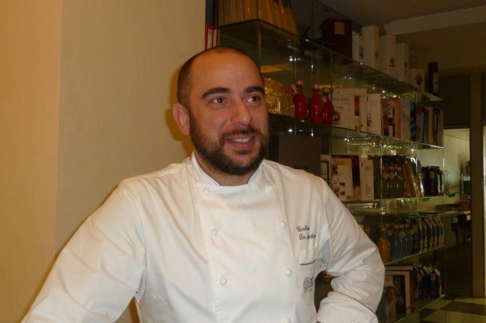 Florian Maison, lo chef, Umberto De Martino da Sorrento al quale chiedo con parole sue, nun me lassa', nun darme stu turmiento
