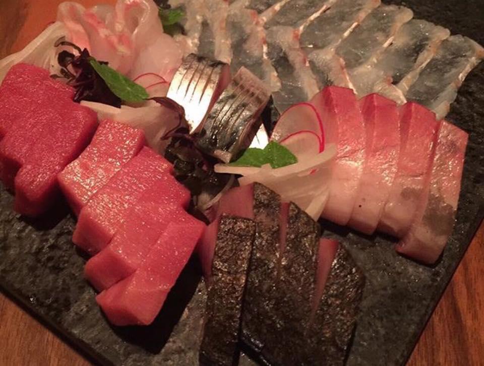 Umu, Mixed Sashimi