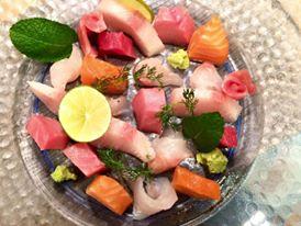 Japit, Selezione di sashimi