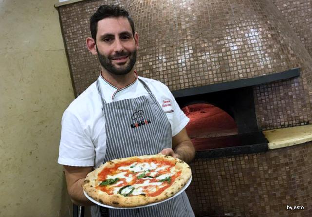 Giu Giu Tommaso Mastromatteo pizza Margherita