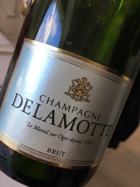 Champagne Delamotte Brut Le Mesnil Sur Oger
