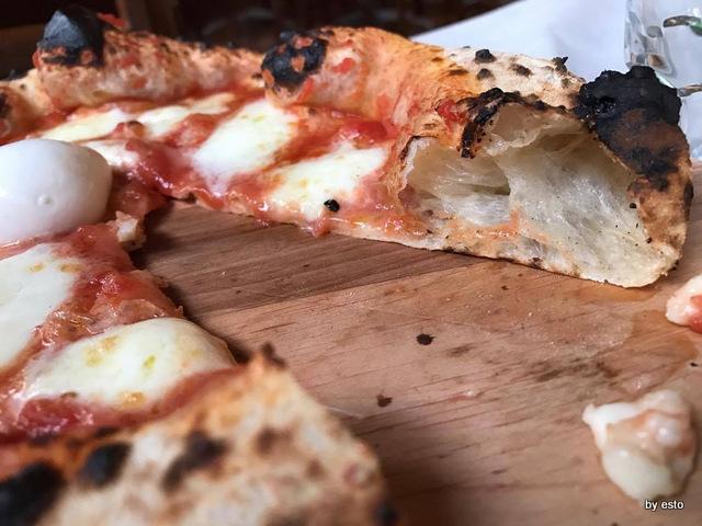 Il Diavoletto Caserta  la pizza Bufalina struttura