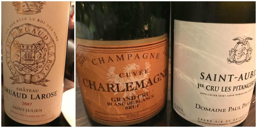 L'Arcangelo, vini e champagne