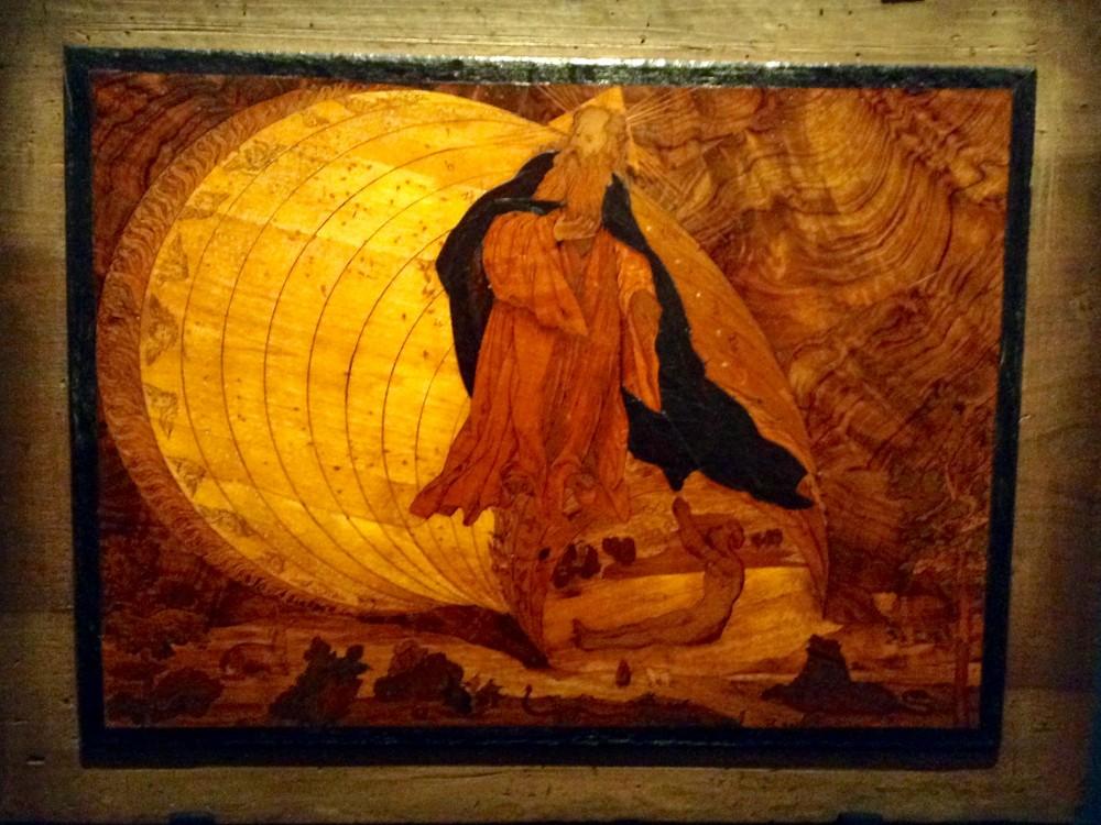 La Creazione, Lorenzo Lotto e Giovan Francesco Capoferri