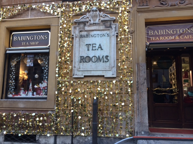 Sala Da The.Tea Rooms Babington S Il Rito Del Te A Roma Luciano