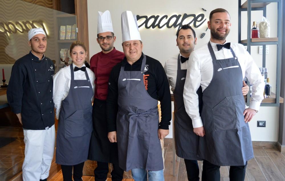 Lo staff  Domenico, Federica, Mario Nino Roberto Luigi
