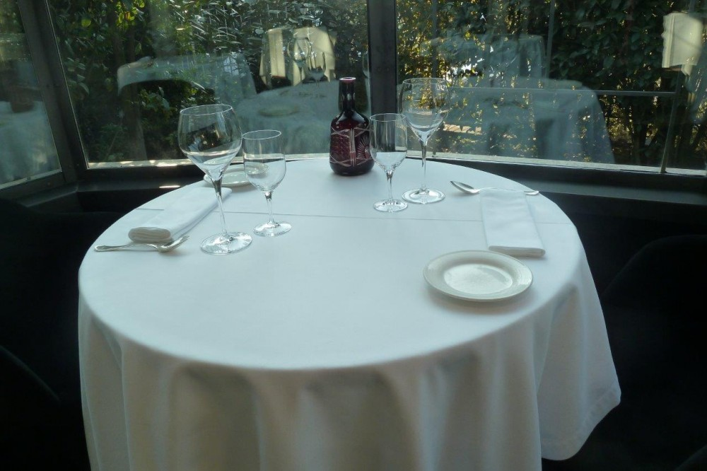 Miramonti, tavolo e mise en place