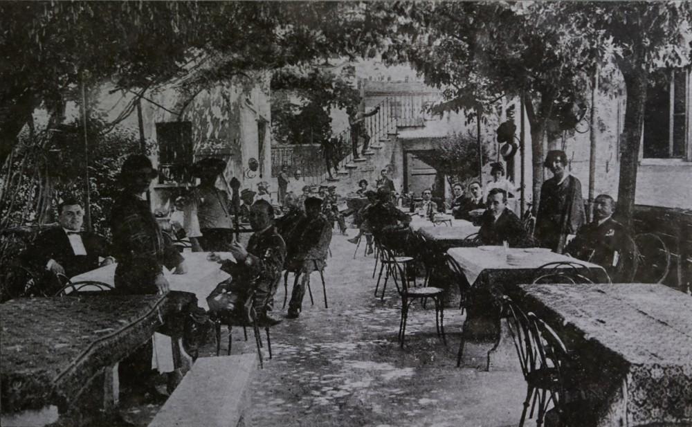 Osteria Grand Hotel, vecchia foto, i ricordi sono un po' più recenti