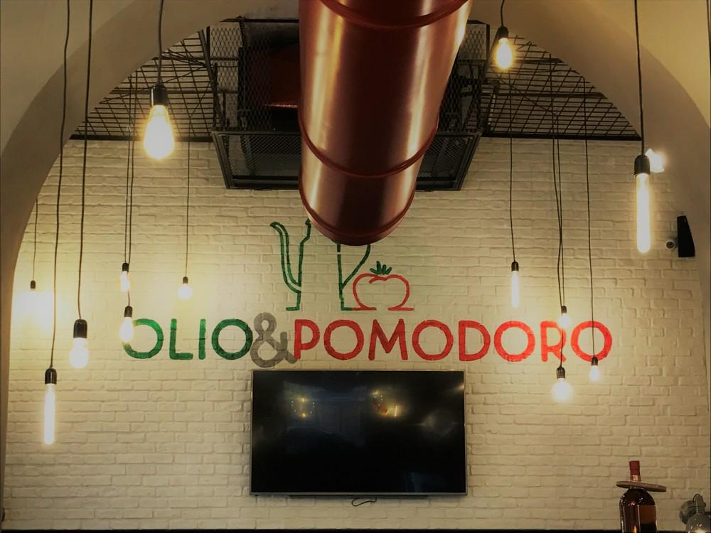 Olio&Pomodoro- gli interni