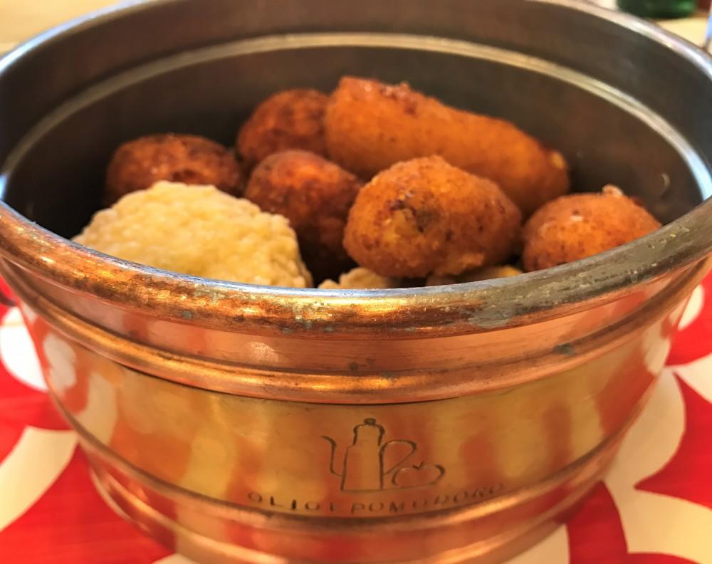 Olio&Pomodoro - le fritture