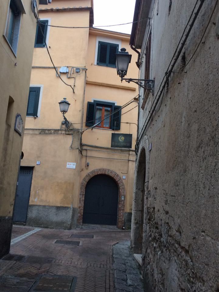 Osteria Carpentieri, scorcio del centro storico