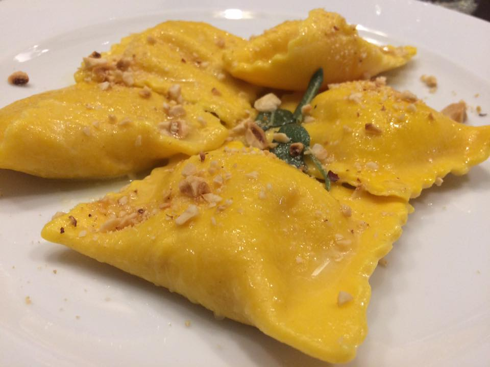 Osteria Carpentieri, tortelli alla zucca mantovana