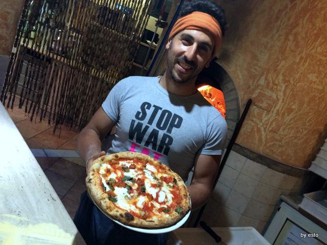Picinisco Bellavista Emanuele De Vittoris  Pizza con funghi