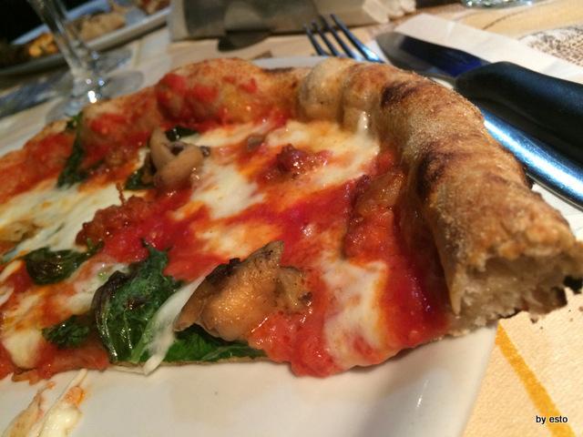 Picinisco Bellavista la pizza struttura