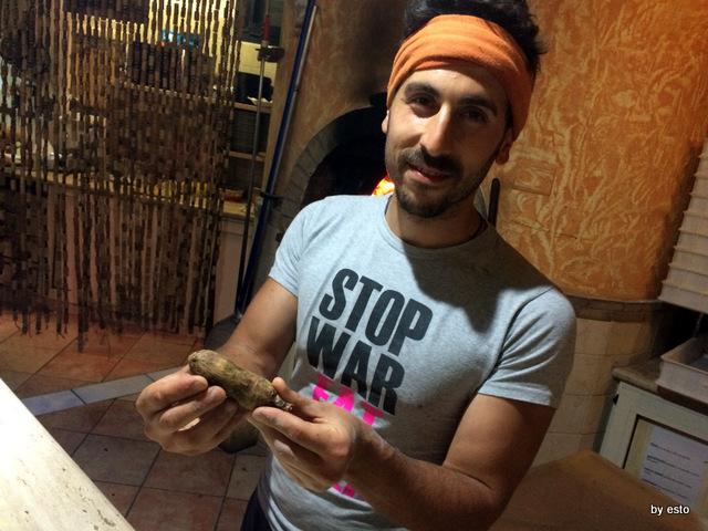 Picinisco Bellavista Emanuele  De Vittoris  salame di fegato  di porco