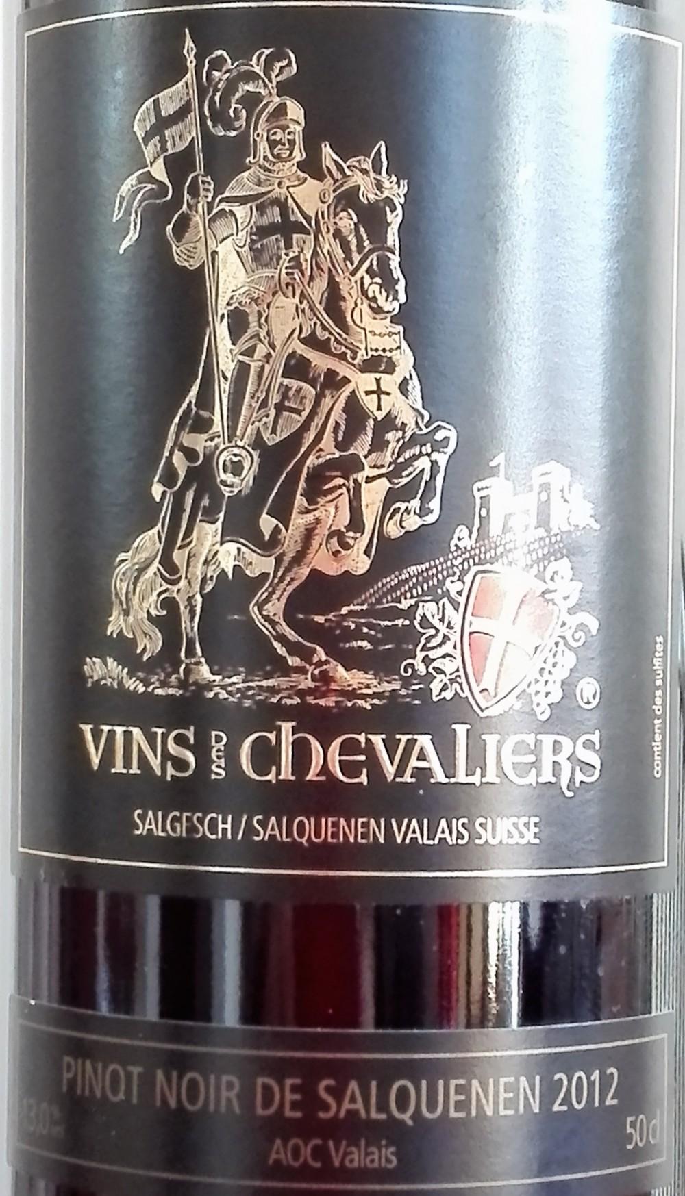 Pinot Noir del Salquenen 2012