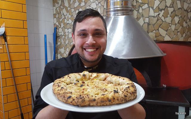Pizza di Pasqua Gaetano Pizzeria Giglio Acerra