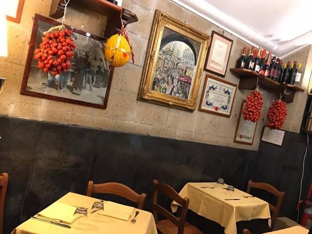 Pizzeria Port'Alba la saletta inferiore