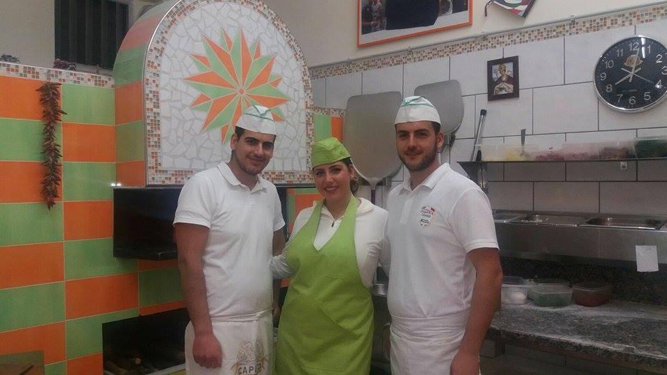 Pizzeria Sant'Antonio - Domenico, Carolina e Mario