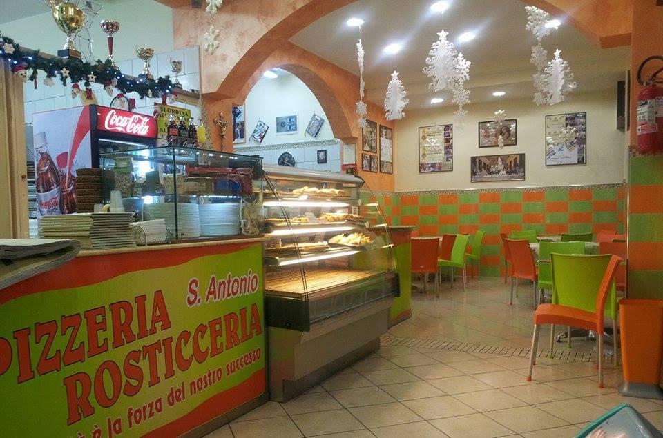 Pizzeria Sant'Antonio, l'interno