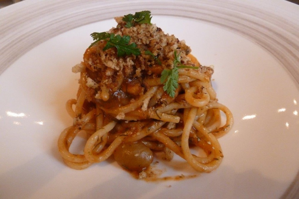 Roberto Pirelli, spaghetti alle sarde